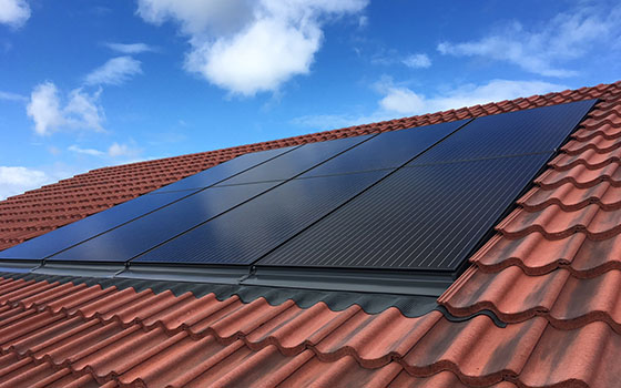 why use roof integrated solar