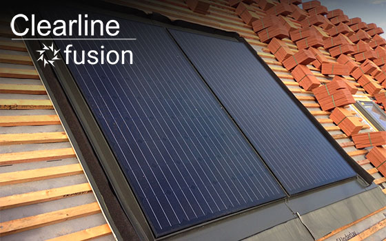 roof integrated solar pv for in-roof installation