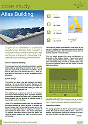commercial building with solar savings and performance