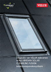 solar roof with roof windows