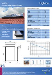 roof integrated solar installation - single panel - tile