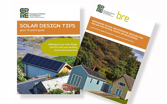 CPRE good solar practice design guide