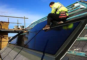 roof integrated solar for Energiesprong retrofit