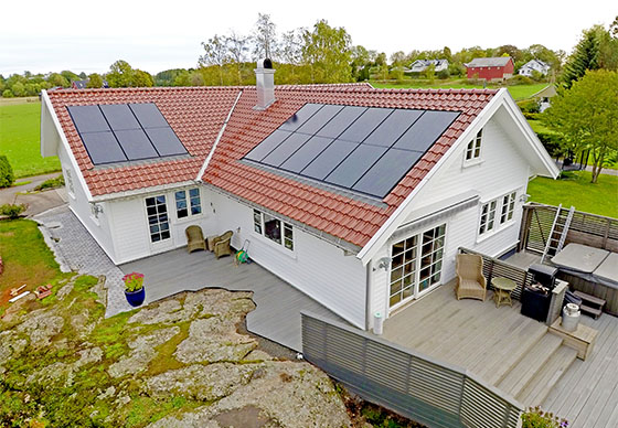 BIPV solar Norway