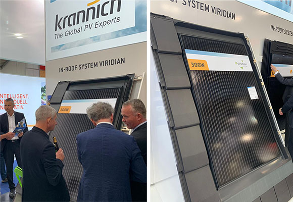 in-roof solar at Intersolar